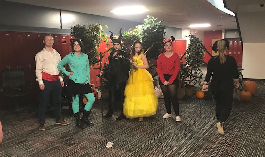 The drama club hosts an enchanted forest for BOO BASH.