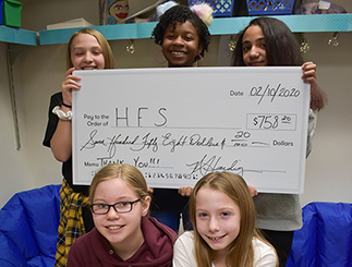 Bobcats Inspired by Classmate Raise Cash for Teachers