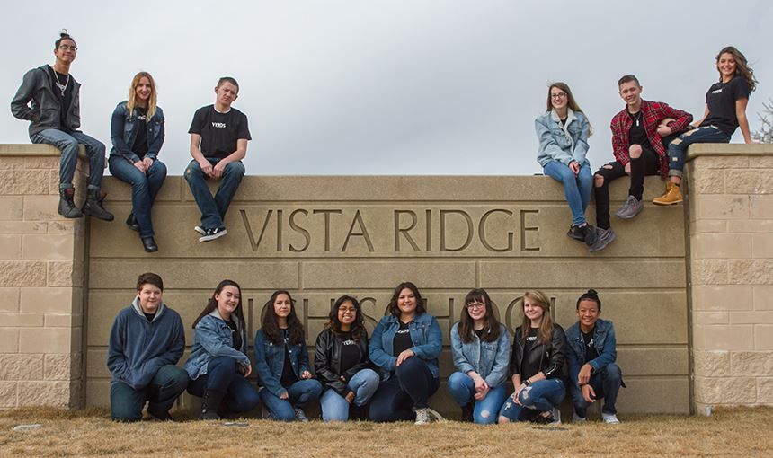 VRHS yearbook staff