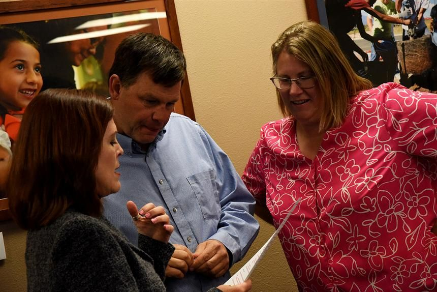 LaVere-Wright, Graham Sworn in as District 49 Board Directors