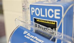 Blue Point Alarm Alert Box