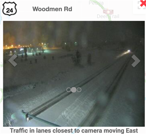 cdot camera Woodmen Road