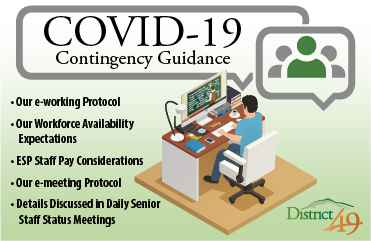 Contingency guidance graphic