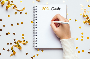 New Year Goals Graphic