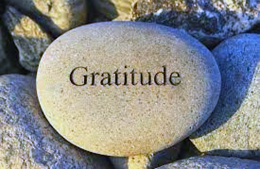 Gratitude rock graphic