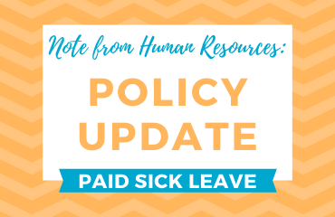 HR Policy Change Graphic