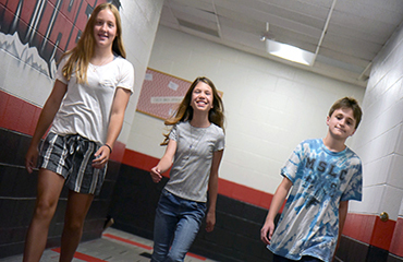 HMS students begin year Aug. 1.