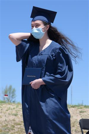 PPEC graduates honored during outdoor ceremony May 22.