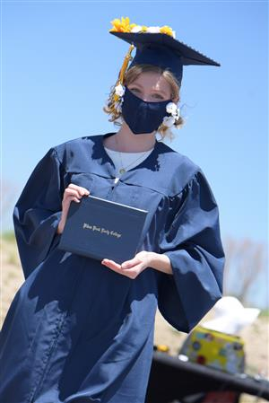 PPEC graduates are honored at outdoor ceremony May 22.