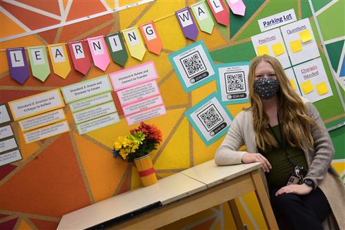KayLee Parson, art teacher at FMS, reinvented her art classes for a digital learning environment.