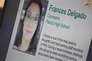 Frances Delgado, counselor at Patriot High School, is a Fantastic 49 honoree Feb. 11.