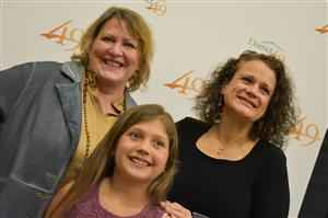 Honorees from ALLIES attend the Fantastic 49 presentation March 11.