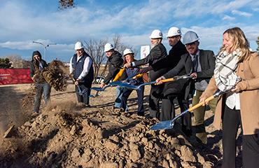 SSAE Campus expansion groundbreaking, December 12, 2019