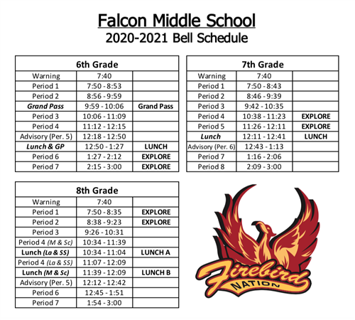 FMS Bell Schedule