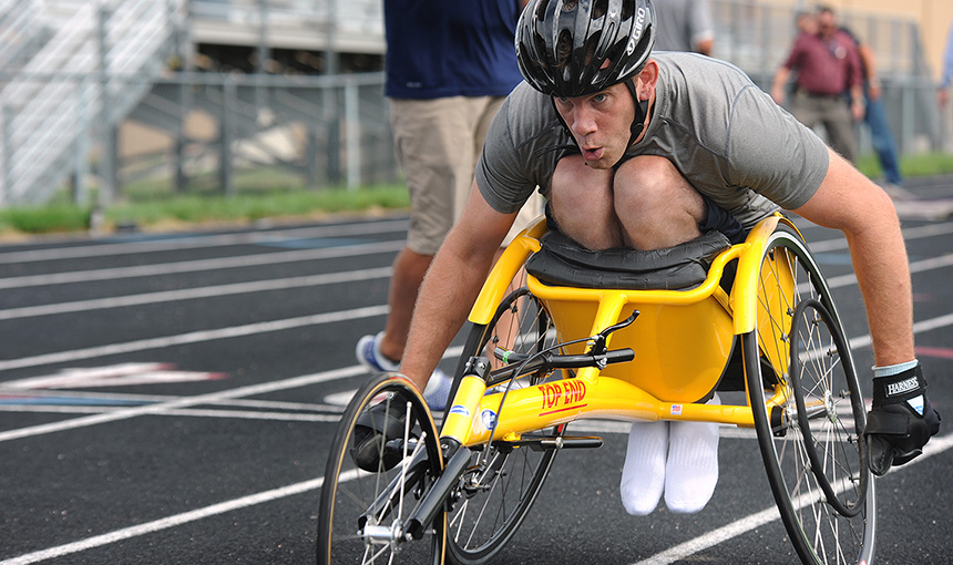 How D49 is Helping a Wheelchair Racer Change the World