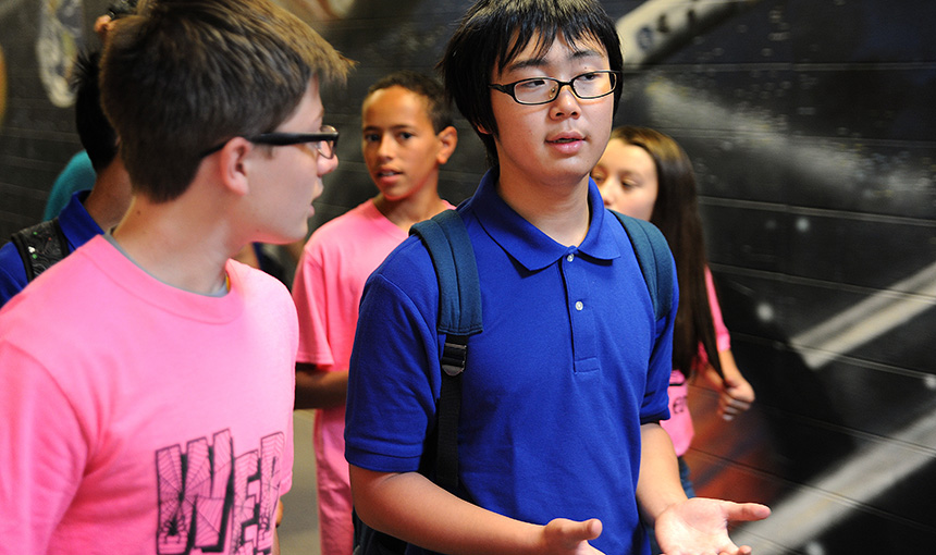 SMS, Japanese Students Open Cultural Doors