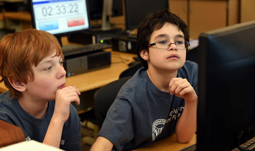 Middle Schoolers Advance in National Cybersecurity Competition