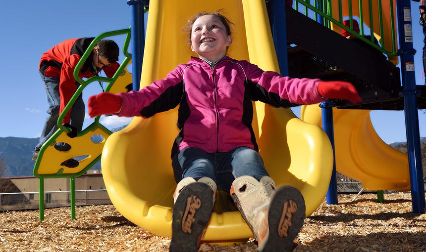 Community Delivers Playground to FVA With Facebook Clicks