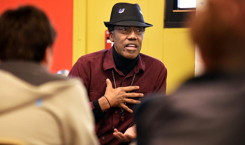 'Papa Clark' Returns With Stories of Civil Rights Struggle, Forgiveness