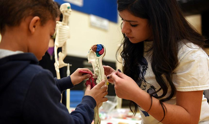Families Gather to Explore Science, Inspire Children