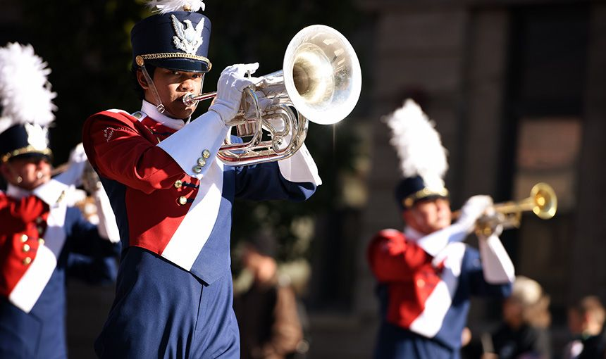 Marching Band Creates Harmony In Cultural Connections