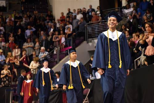 Sand Creek High School graduates