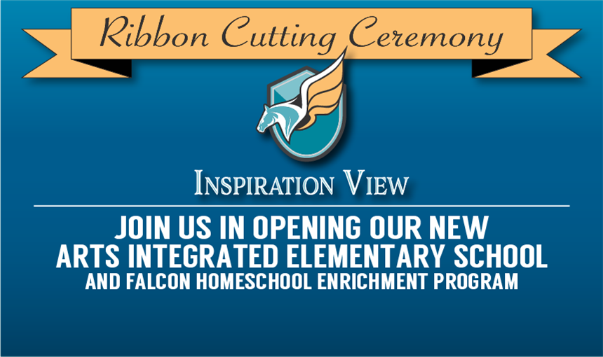 Invitation to Inspiration View ribbon cutting ceremony
