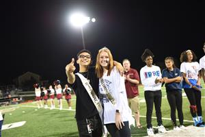 SCHS homecoming king and queen
