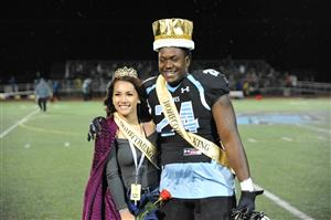 VRHS Homecoming Queen and King, Cienna Powell and Gee Young, Sept. 27