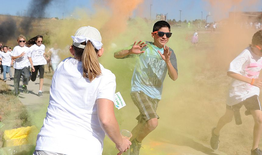 Color Run Tosses 'Fun' Into Fundraiser