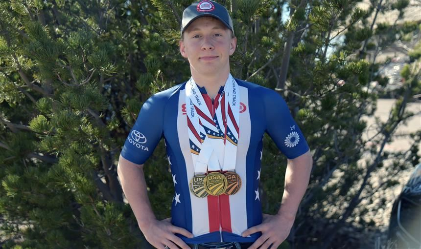 Jacob Waters,  SSAE student and para-cyclist, is competing in Para-cycling World Championships.