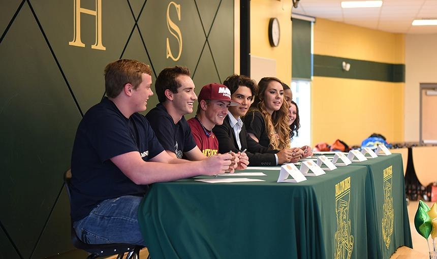 Students Sign Letters of Intent at FHS