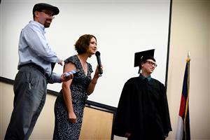 Graduates recognized during homeschool completion ceremony May 19.
