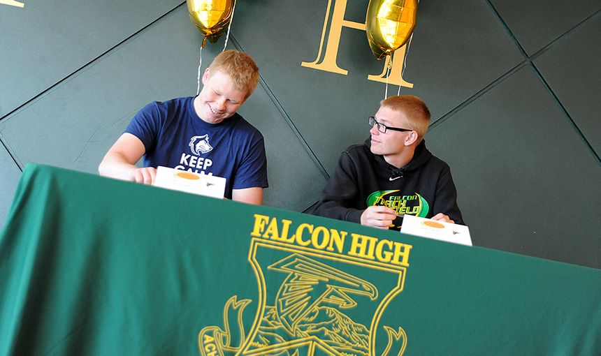 FHS Student Athletes Sign Letters of Intent