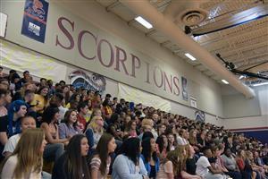 The class of 2022 is welcomed to the Sand Creek High School family Aug. 1 during freshmen orientation festivities.