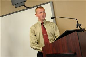 "Twelfth-grader Dakota Nelson, 18, is honored during ""Fantastic 49"" achievements."