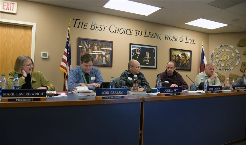 Board members all voiced sincere gratitude at the Nov. 8 Board of Education meeting.