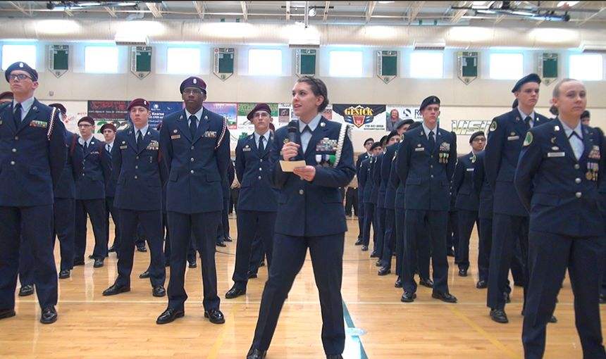 FHS and SCHS Junior ROTC Cadets Honor Memory of District 49 Graduate