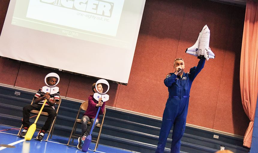Astronaut Presentation at EIES