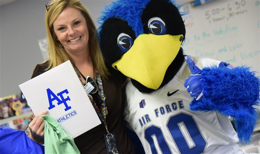 Ridgeview Elementary teacher is honored by AFA Sept. 23.