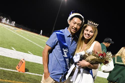 Homecoming King and Queen 2018 FHS