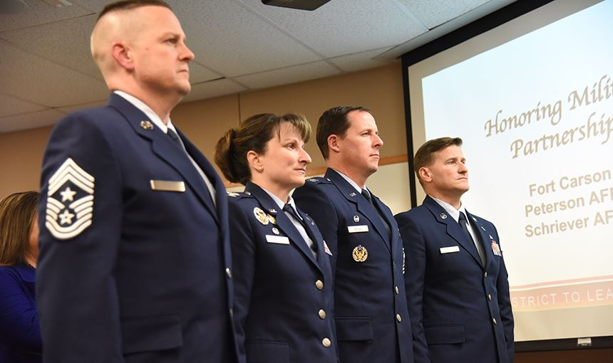 Military partnerships recognized