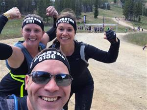 Stetson Elementary School team members at Breckenridge Spartan Race Aug. 26.