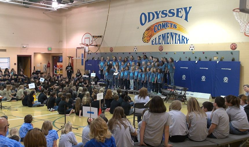 Elementary School Choir Participates in Music Festival
