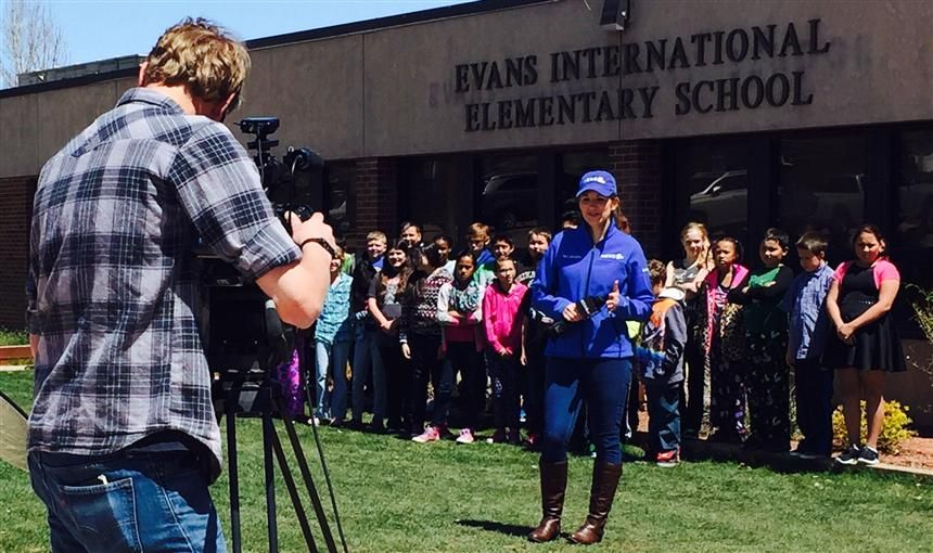 News Channel 5 Broadcasts Live at EIES