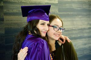 SSAE grads celebrate commencement with friends and family