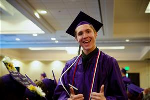 92 SSAE seniors celebrate commencement at the Doubletree Hotel