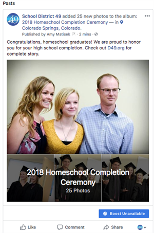 Homeschool Completion Ceremony photo album.