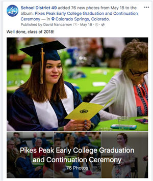 PPEC Graduation/Continuation Ceremony Facebook Album