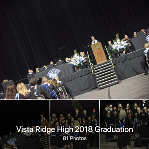 VRHS high school graduation album cover